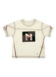MAYORAL T-shirt / Top BLANC Manche courte ENFANT pour 12€