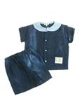 TITI DE LA LUNE T-shirt / Top BLEU Manche courte ENFANT pour 18€
