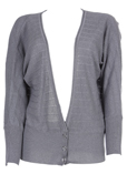 Cannisse Gilet Gris Cardigan F