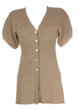 Finette Gilet Beige Cardigan F