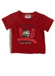 Petit Boy T-shirt / Top Rouge