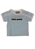 River Woods T-shirt / Top Bleu