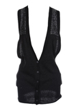 Replay Gilet Noir Cardigan Fem