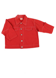 3 Pommes Chemise Rouge Manche 