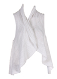 Cannisse Gilet Blanc Gilet Fem