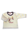Tapioca Pull Jaune Sweat Fille