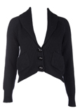 Paul Smith Gilet Noir Cardigan