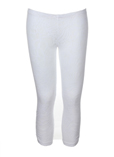 Ddp Pantalon Blanc Legging Lon