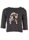 Marcel Et Leon Pull Gris Chine