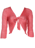 Finette Gilet Rose Cardigan Fe