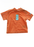 Clayeux T-shirt / Top Orange M