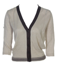 Maxmara Gilet Cafe Au Lait Car