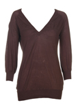 Sportmax Code Pull Marron Col 