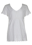 Dkny T-shirt / Top Blanc Manch