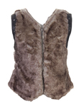 Chipie Gilet Marron Gilet Fill