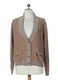 Paul Smith Gilet Camel Cardiga
