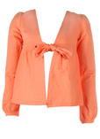 Mayoral Gilet Orange Cardigan