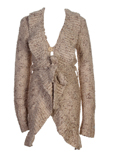 Teddy Smith Gilet Beige Cardig