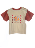 Tapioca T-shirt / Top Marron M