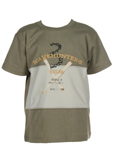 Valenri T-shirt / Top Kaki Man