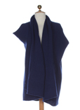 Hache Gilet Bleu Cardigan Femm