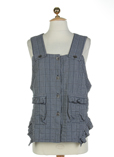Cannisse Gilet Bleu Acier Gile