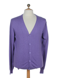Imperial Gilet Violet Cardigan