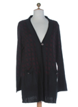 Purplerose Gilet Bordeaux Card