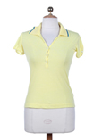55 Dsl T-shirt / Top Jaune Pol