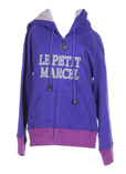 Little Marcel Gilet Violet Car