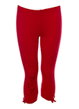 Desigual Pantalon Rouge Leggin