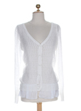 Molly Bracken Gilet Blanc Card
