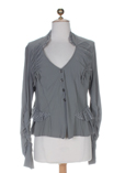 Sun Light Gilet Gris Cardigan