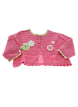 Catimini Gilet Rose Cardigan F