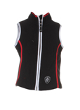 Poivre Blanc Gilet Noir Gilet 