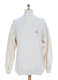 Adidas Pull Creme Sweat Garcon