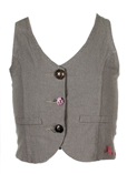 Ikks Junior Gilet Marron Gilet