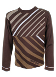 Rip Curl Pull Marron Col Rond 