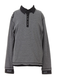 3 Pommes Pull Gris Sweat Fille