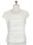 Chipie T-shirt / Top Blanc Cas