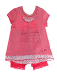 Jean Bourget Ensemble Rose T-s