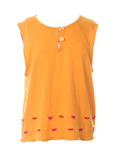 Clayeux T-shirt / Top Orange D
