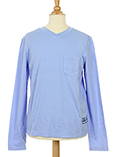 Ikks T-shirt / Top Bleu Manche