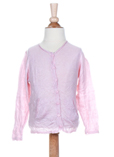 Ikks Gilet Rose Pale Cardigan