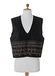 Enjoy Gilet Noir Gilet Femme