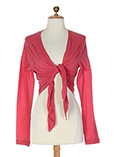 Sandwich Gilet Rose Cardigan F