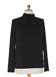 Gerard Darel Pull Noir Sous-pu