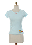 Chipie T-shirt / Top Bleu Ciel