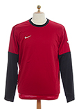 Nike Pull Rouge Grenat Sweat F