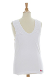 Mdp T-shirt / Top Blanc Top Fi